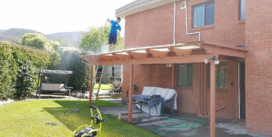 Another epic roof wash
