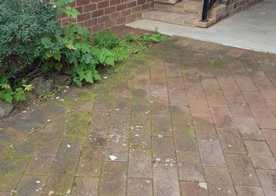 High pressure washing pathway
